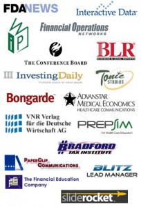 Sample of companies that we have worked with in the Information Services industry