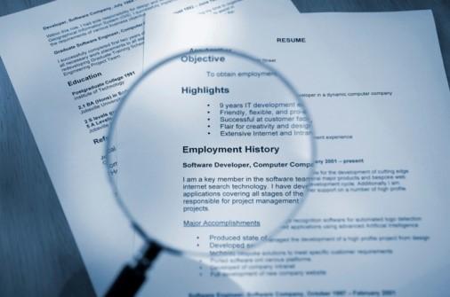 job candidate interviews chief sales leader