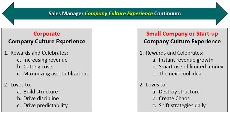 Company Culture - Firing and Replacing Your Sales Manager